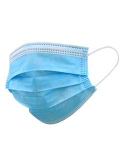 ماسک پرستاری سه لایه آبی