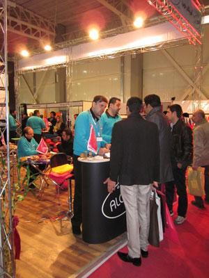 الوبگ در دهمین نمایشگاه بین المللی تبلیغات، بازاریابی و صنایع وابسته